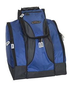 1e483e3ed3 Amazon.com   Deluxe Ski Boot Bag - Blue   Snow Sports Boot Bags   Sports    Outdoors