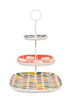 Plat à gâteau Orla Kiely chez FLEUX'! #home #deco #retro www.fleux.com
