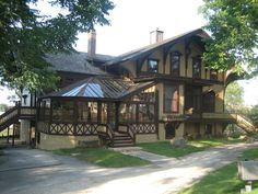 Historical Places-Tinker Swiss Cottage, Rockford, IL