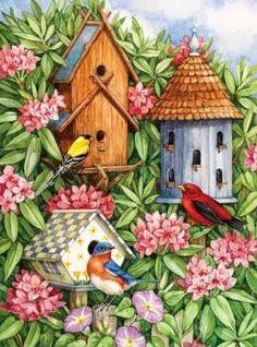 A birds paradise (88 pieces)
