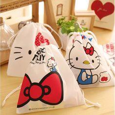 Hello Kitty Storage Bag //Price: $2.99 & FREE Shipping // World of Hello Kitty http://worldofhellokitty.com/korean-cute-hello-kitty-cosmetic-organizer-bag-for-girls-kawaii-non-woven-fabric-women-socks-storage-bag-free-shipping-291/    #childrensworld