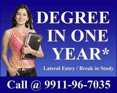 One Sitting Degree | Single Sitting Degree | Fast Track Degree in One Year