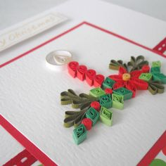 Quilled Christmas card £5.00