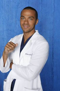 Jesse Williams, can he be my doctor please?!