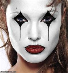Celebrity Mimes Pictures...great makeup...clean and crisp