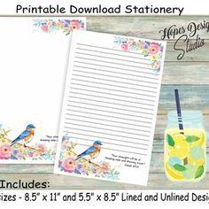 Letterhead Design, Stationery Design, Printable Letters, Printable Paper, Writing Paper, Letter Writing, Money Chart, Jw Gifts, Letter Size Paper