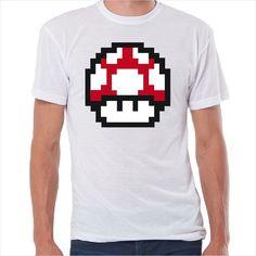 Camiseta retro Seta Mario Bros