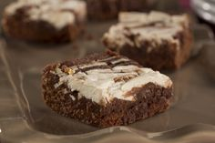 Not only are these Ooey Gooey Marbled Brownies a sight to behold, they are also pretty tasty! Plus, low-fat ingredients hep keep your carbs and calories under control, allowing you to indulge in a small amount of sweetness every now and then.