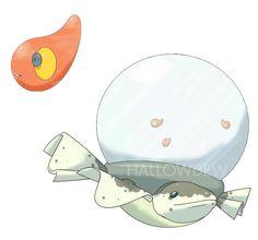 Tank Fish Pokemon by HallowDew on DeviantArt