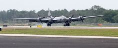 Last flying B-29 Superfortress Bomber lands in Vero Beach - w/photos
