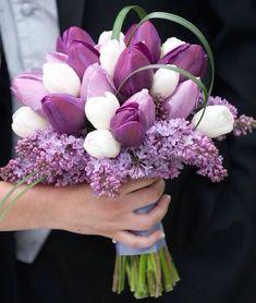 15 bouquet sposa 2015 classici e originali - bouquet da sposa 2015 tulipani   DonneSulWeb