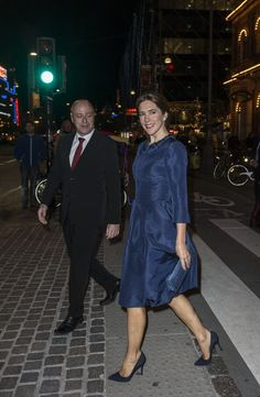 Crown Princess Mary of Denmark Aug. 25, 2014