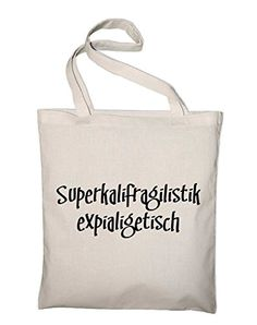 Mary Poppins Fun Jutebeutel, Beutel, Stoffbeutel, Baumwolltasche, natur - http://herrentaschenkaufen.de/styletex23/natur-mary-poppins-fun-jutebeutel-beutel