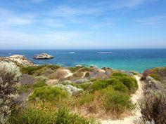 Point Peron Beach in Rockingham, Western Australia