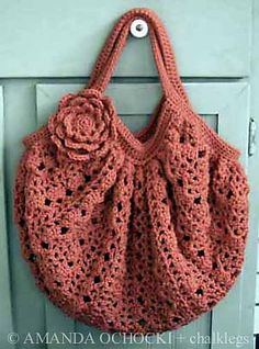 Ravelry: chalklegs' Salmon Lace Bag