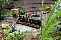 """Railroad Line Forums - The Gallery: Mar. """"Towers: Water, Coal & More"""" Ho Scale Train Layout, Ho Scale Trains, Model Train Layouts, Model Trains, Towers, Garden, Gallery, Water, Gripe Water"""