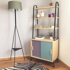 Mid century Bookcase storage furniture by ChouetteFabrique on Etsy