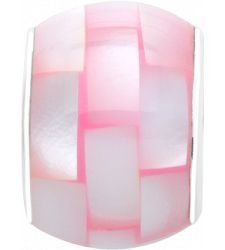 Pink Mother of Pearl Persona bead