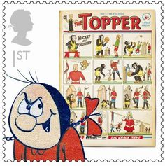 British Comics - Topper: Beryl the Peril was created by the same cartoonist as Dennis the Menace - and is similarly mischievous