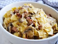 jak zrobic lazanki przepis na lazanki (3) Polish Recipes, Pasta Salad, Potato Salad, Noodles, Cabbage, Stuffed Mushrooms, Traditional, Vegetables, Cooking