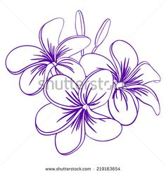 Stock Images similar to ID 233094727 - watercolor flower hibiscus