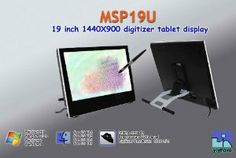 Yiynova MSP19U Tablet Monitor,VESA Stand(Mac & Windows Solution) by The Panda City. $599.00. Yiynova's solution for Mac users. The world's most advanced Tablet Display. enables creative professionals such as illustration, animationand industrial design etc. Provider an intuitive way to use the pen directly on flat glasss surface to complete all works comfortably.  An extra VGA output will allow you to share your idea on the extend screen with existing software...