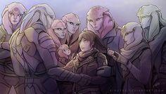 Andromeda family by Kivutar