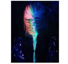 OMG, Yes, You Can Totally Make Your Hair Glow-In-The-Dark Now