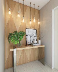 Apartment Entrance Design Lamps 47 Ideas For 2019 Hallway Decorating, Entryway Decor, Interior Decorating, Wall Decor, Room Decor, Interior Design, Entrance Design, Hall Design, Apartment Entrance