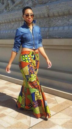 Pokello wearing an Elikem Kumordzie design