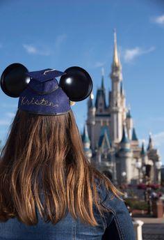 Disney World Senior Pictures Magic Kingdom  Solid Gold Photography, Tampa FL