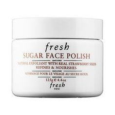 Shop Fresh's Sugar Face Polish at Sephora. This all-in-one exfoliator and mask with pure brown sugar creates the look of a softer, more radiant complexion.