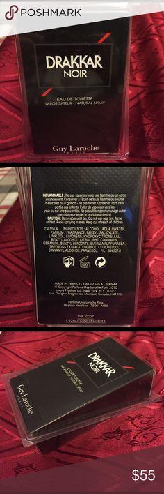 DRAKKAR NOIR Eau De Toilet •Vaporisateur•Natural Spray Brand New For Men. 1.7 Fl OZ e50 ml Guy Laroche paris Other