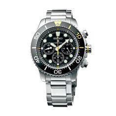 Ανδρικό ρολόι SEIKO SSC613P1 Prospex Solar Diver's 200m με μαύρο καντράν, χρονογράφο, ημερομηνία και ατσάλινο μπρασελέ   ΤΣΑΛΔΑΡΗΣ στο Χαλάνδρι #seiko #prospex #solar #divers #μαυρο #tsaldaris Seiko Watches, Casio Watch, Omega Watch, 200m, Accessories, Dressing, Products, Clocks, Jewelry