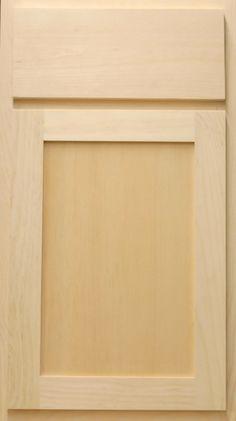 maple wood :: shaker door style :: sesame finish #kitchen ...