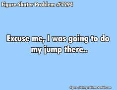 What I say during a public skate