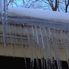 Gutter Ice Dams  How To Prevent Ice Build Up In Your Guttering  Clean Pro Gutter Cleaning http://ift.tt/2hmDAcJ #icedams #icebuildups #gutter #gutters #guttermaintainance #guttermaintenance #guttertips #gutterhomesandgardens #homemaintenance #snowbuildup