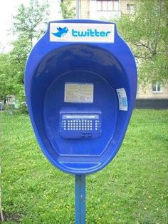 We went from phone booths to Twitter booths. Who would have thought.
