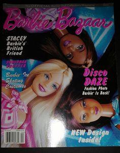 4 Beautiful Issues Barbie Bazaar Magazines 1998 2001 2002 Anniversary Issue  in Muñecas y osos, Muñecas, Barbie contemporánea (1973 - presente), Libros y revistas | eBay