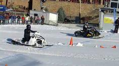 Fast Snowmobiles at Bear Creek Mountain Resort