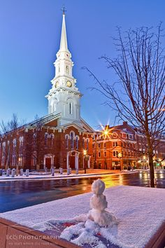 Market Square, Portsmouth, New Hampshire (Copyright ©Jerry and Marcy Monkman/EcoPhotography)