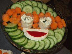 Πιατέλα φρέσκων λαχανικών σε σχήμα Χελωνονιντζάκι! Ο Μικελάντζελο στα νοστιμότερά του!!!
