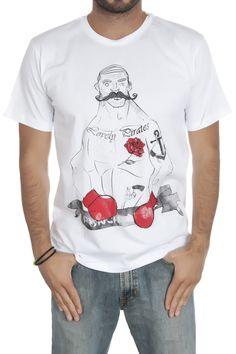 BOXER PIRATE- Tişört | Tasarım tişört | TROOM
