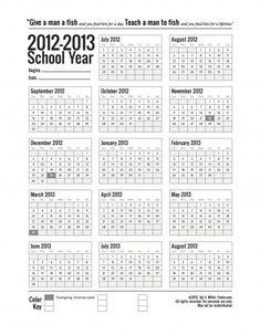 printable school-calendar-2012-2013