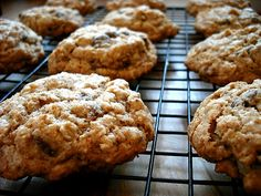 whole wheat oatmeal chocolate chip cookies.. Just made these with white chocolate chips instead.. So good!