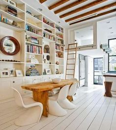 Up, Up, and Away - Library Ladders in Home Design: 13 Inspiring Examples - Bob Vila