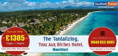 Mauritius is even more tempting with Southall Travel's exclusive deals on Trou Aux Biches hotel. Avail multiple discounts on all bookings. Call our travel experts now for more details! http://www.southalltravel.co.uk/holidays/indian-ocean/mauritius/trou-aux-biches-hotel.aspx