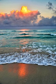 Early morning on Varadero beach , Cuba