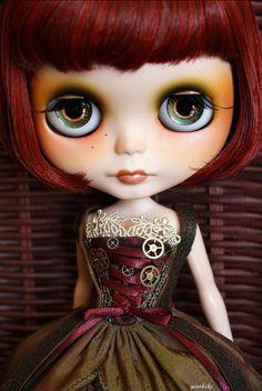 ooak blythe doll