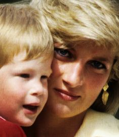 Diana and Harry- how happy she would be to see how well her boys turned out. Harry, handsome & brave, serving in the military. William married to Kate and the precious future King of England- George.